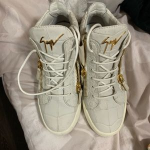 2018 Giuseppe Zanotti High Top Sneakers. FLY!